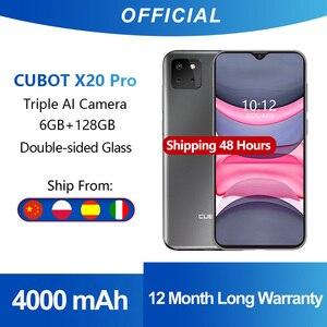 Cubot X20 Pro 6 ГБ + 128 ГБ Смартфон Sony AI Тройная камера 12MP+20MP+8MP 6,3