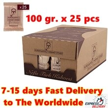 GROßHANDEL 2,5 kg BERÜHMTE BESTE QUALITÄT Kurukahveci Mehmet Efendi Türkische Boden Kaffee 100gr pack x 25 Pcs. FREIES VERSCHIFFEN