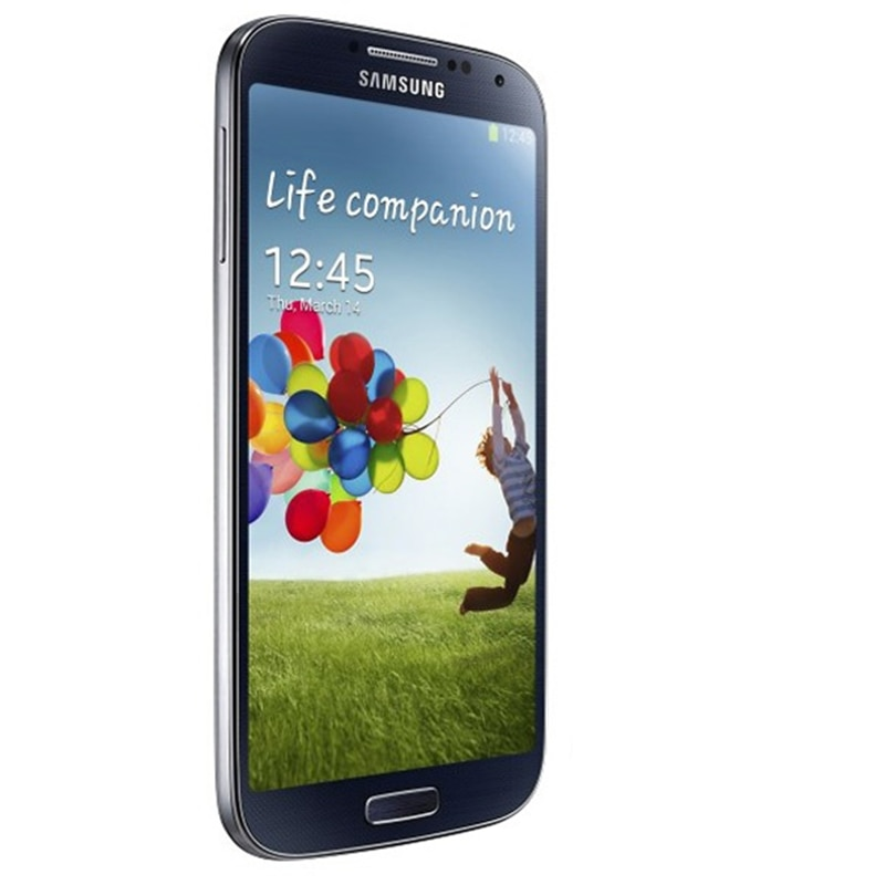 Samsung-هاتف ذكي Galaxy S4 i9500 ، هاتف ذكي بشاشة 5.0 بوصة ، رباعي النواة ، 2 جيجا بايت رام ، 16 جيجا بايت روم ، أندرويد ، مفتوح