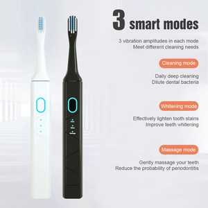 Electric Toothbrush 2 IN 1 Dental Scaler Tooth Calculus Remover Cleaner Tooth Stains Tartar Scraper Electric Tooth Clearner