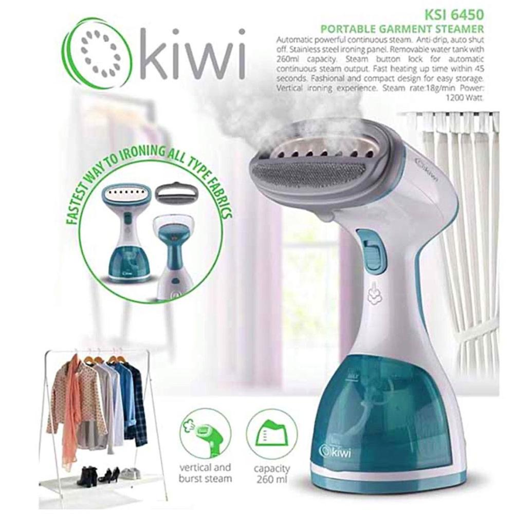 Kiwi KSI-6450 Garment Steamer Popular Professional Electric Travel Home Steam Iron Handheld Portable For Clothes
