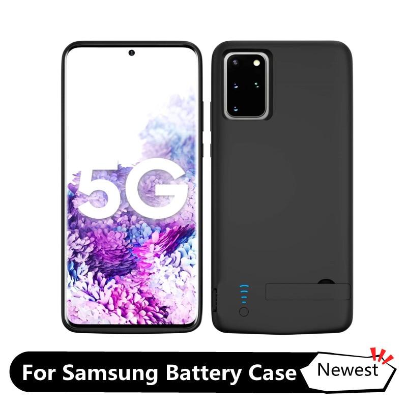 Чехол для Samsung Galaxy S8 S8 Plus S9 S10 S10e Note 8 9 10 S20 + Plus Note 20 S21, внешний аккумулятор 6000 мАч