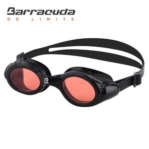 Barracuda детские плавательные очки Анти-туман УФ Защита для возраста 7-15 #33620 розовый