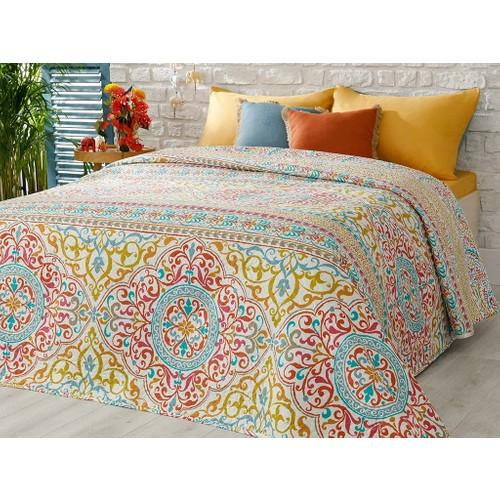 Raisa-غطاء سرير فردي للمنزل ، أغطية سرير خضراء متعددة الأغراض ، 160 × 220 سم ، أغطية سرير فاخرة ، إنجليزي