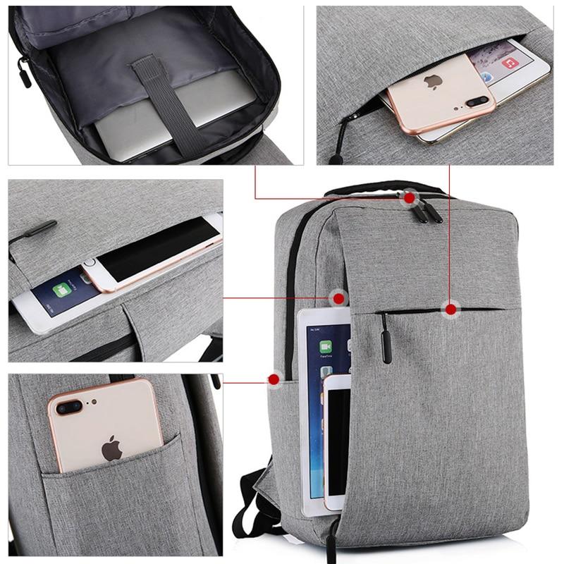 Rucsac pentru laptop cu USB, rucsac antifurt cu rucsac școlar, - Rucsacuri - Fotografie 2