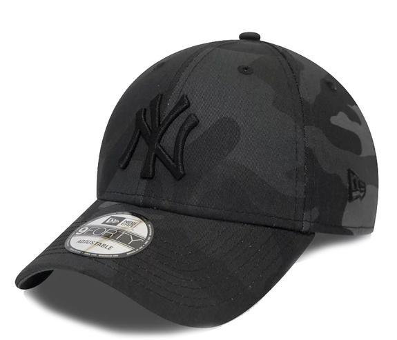 Neue Ära Kappe 9 VIERZIG New york NY New York Yankees MLB Camouflage Schwarz