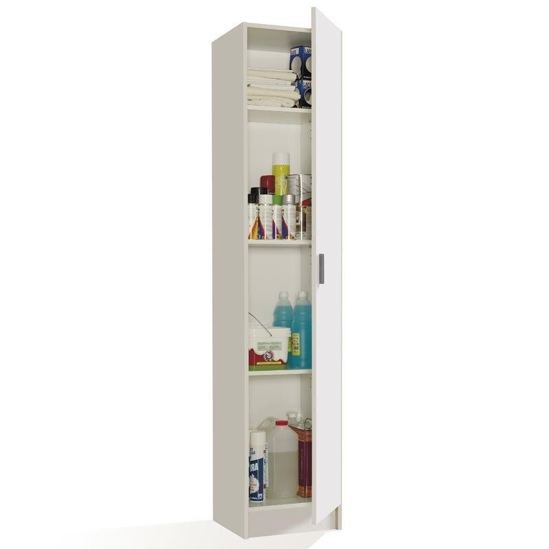 aliexpress.com - Side cabinet multi-purpose Cabinet, bathroom cabinet, kitchen cabinet, white side cabinet, measures: 182x37x37 cm
