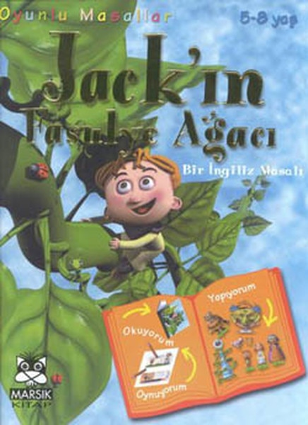 Serie de cuentos de hadas de Oyunlu Árbol de judías jack  n-Un cuento británico 5-8yagru Oyunlu Maria Lips Marsık libro