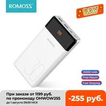 ROMOSS LT30 Phone Power Bank 30000mAh USB Type C 30000mAh Powerbank External Battery Charger Poverba
