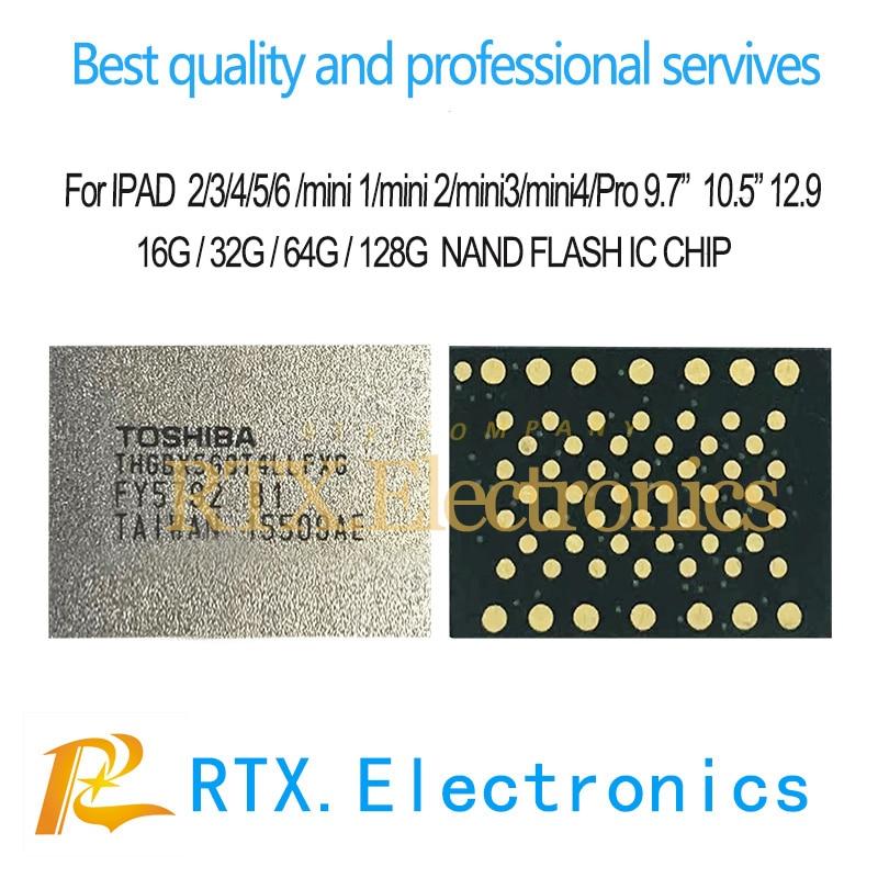 "Memoria Flash Nand IC para IPhone 6 IPhone 6s 6sp 7 7Plus, IPAD Pro 10,5 ""12,9"" 9,7 ""2017"" 2018 16G 32G 64G 128G 256G 512G reemplazo de Chip"