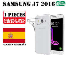 Samsung J7 2016 J710 Ultra Thin Transparent Silicone Case TPU Gel Case Protection Anti Shock and Dirt Resistant