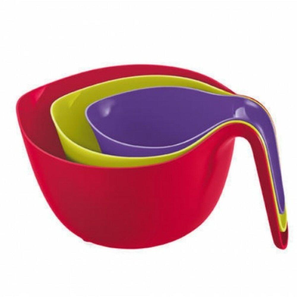 Koziol 3859098 mixx 3 tigelas de misturador de cores