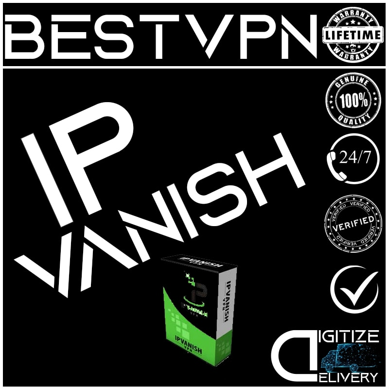 ipvanish-life-time-unlimited-warranty-sameday-delivery