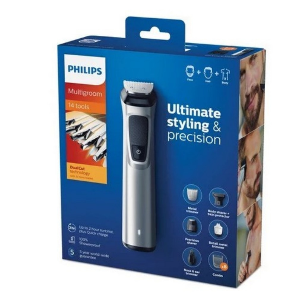 Shaver Philips 7000 Series MG7720 / 15 Multigroom 14 in 1 Grooming Kit, Fast Delivery from to Turkey Men's Grooming Successful enlarge