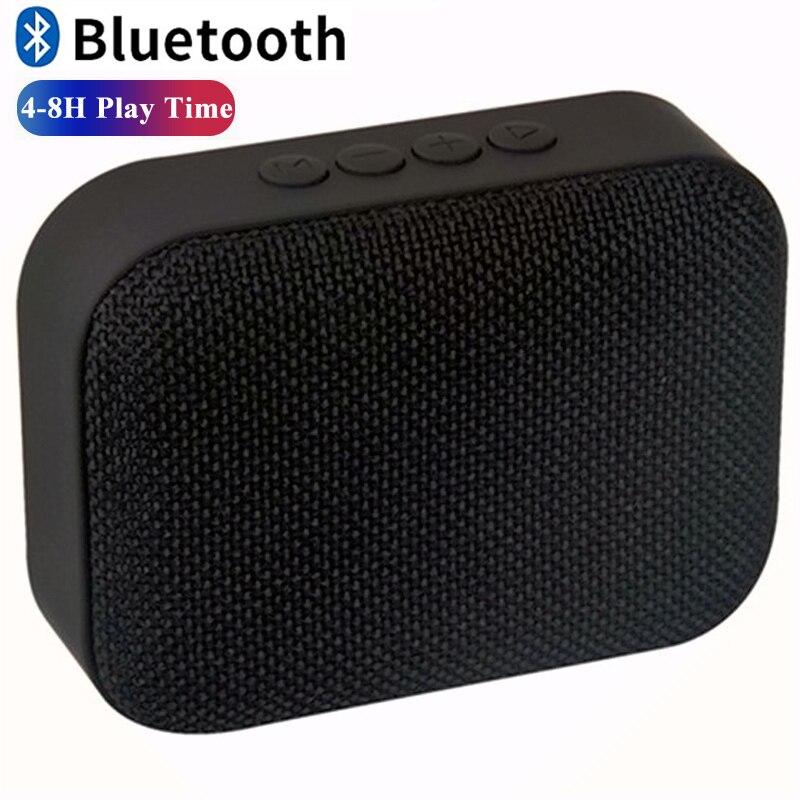 Mini Altavoz Bluetooth altavoz portátil inalámbrico para ordenador estéreo música envolvente altavoces exteriores impermeables caja
