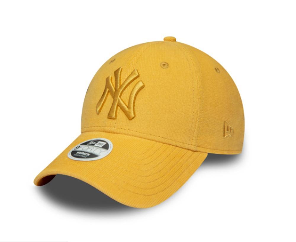 Gorra para mujer New York Yankees amarillo pastel - 9FORTY New Era