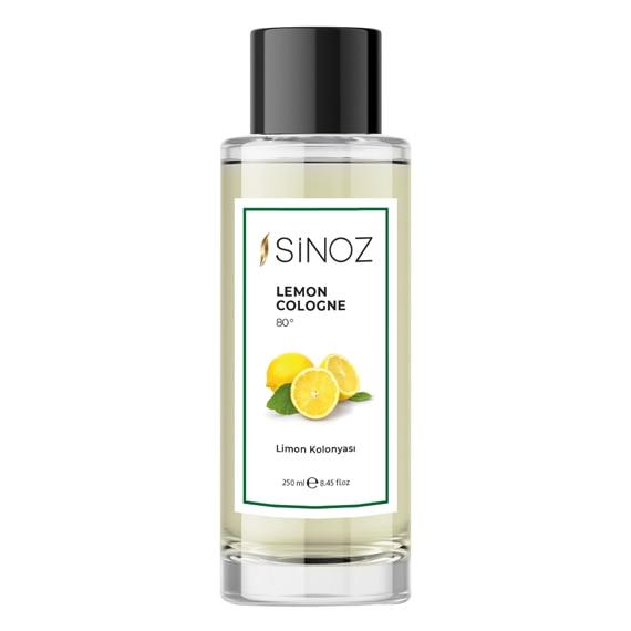 Sinoz лимон одеколон приятный запах гигиеническая личная гигиена освежающий традиционный аромат ежедневного использования натуральный свет...