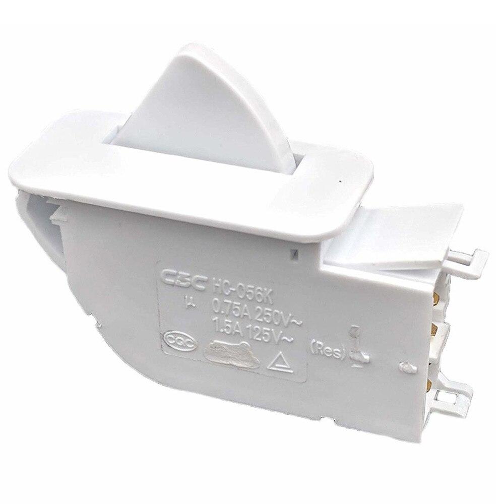 Botão da porta do congelador & substituição do interruptor para lg lbn20513ww-6600 jb1010a