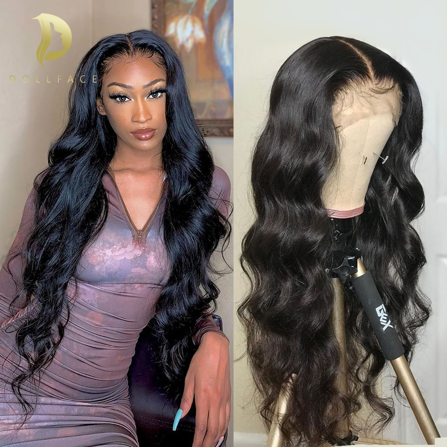 body wave lace front human hair wigs for black women 13x4 hd full lace frontal wig pre plucked 28 30 inch brazilian hair wigs