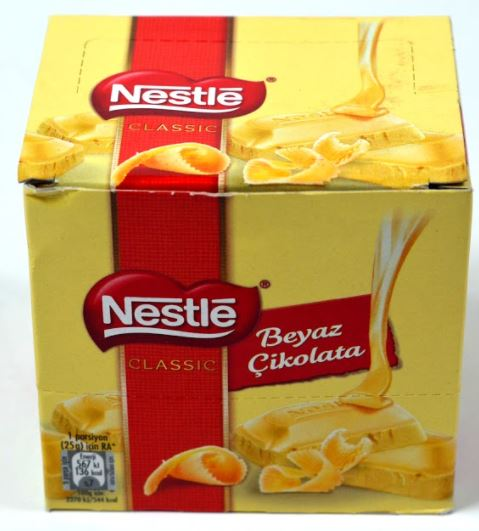 Nestle White Chocolate 70 gr x 6  delicious yummy chocolate