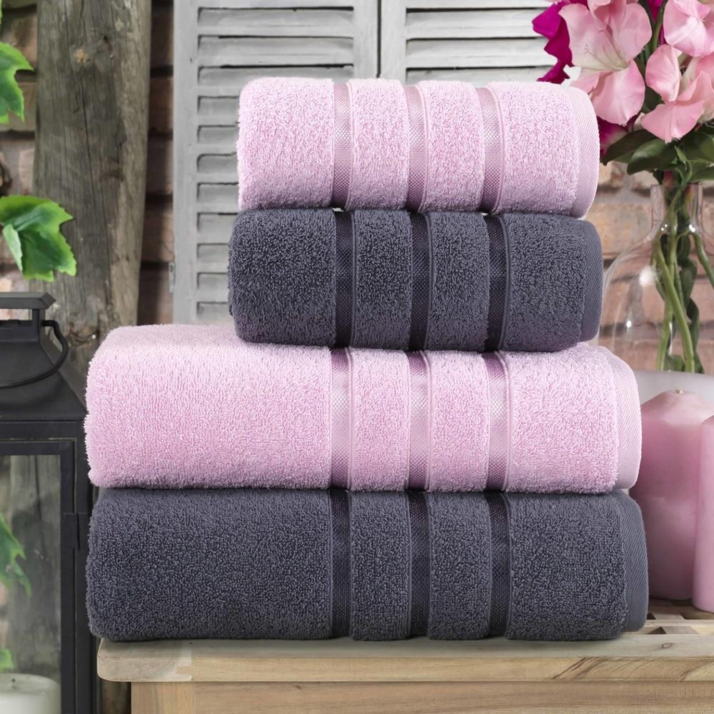 حمام منشفة مجموعة 2ve 4 قطعة 50 × 90 Cm 70 × 140 Cm التركية جودة القطن سوبر المياه ماصة لينة سريع تجفيف سبا ساونا فندق منشفة