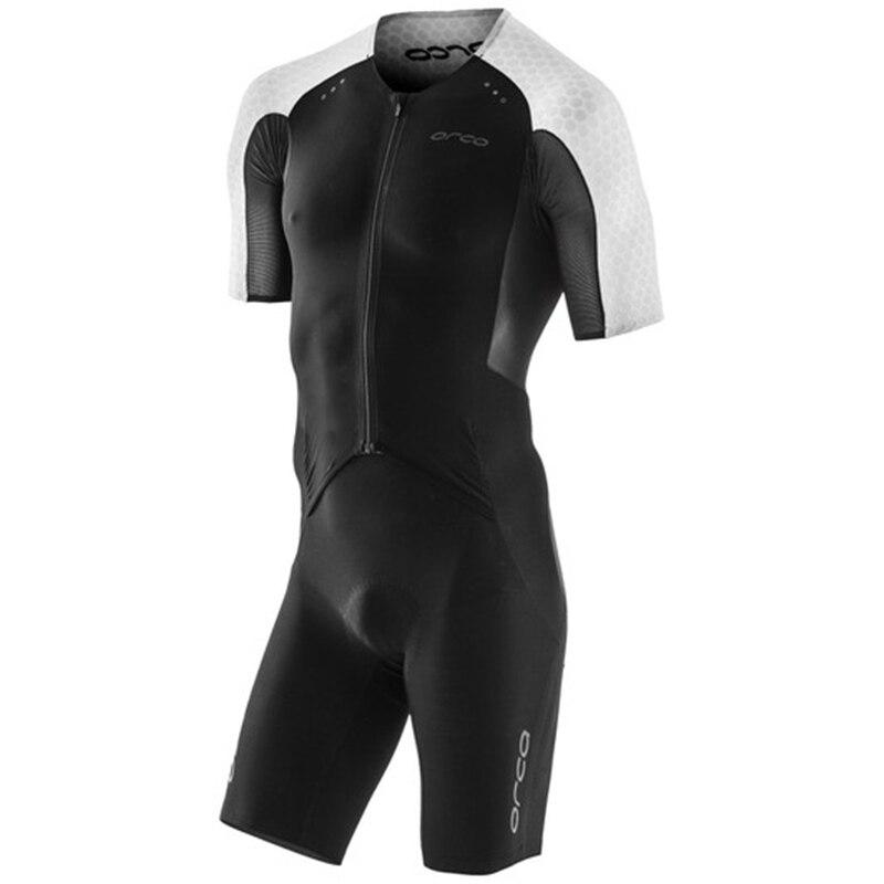 Orca aero dos homens de manga curta trisuit skinsuit roupas esportivas ciclismo ternos triathlon ternos verão ao ar livre macacão mtb kits
