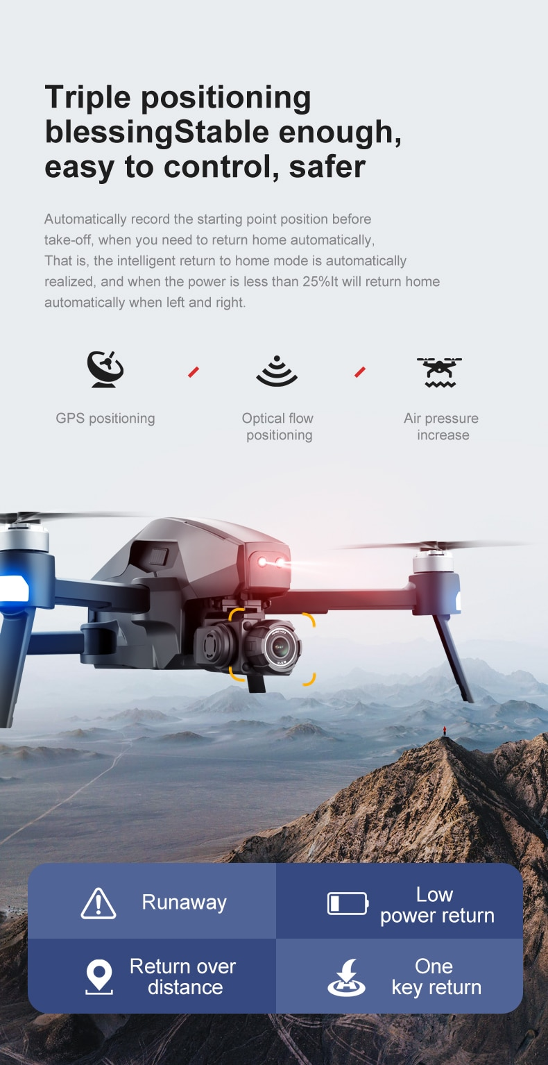 U91d7850bc38643489de438cb652e35e8v - 2021 M1 Pro 2 drone 4k HD mechanical 2-Axis gimbal camera 5G wifi gps system supports TF card drones distance 1.6km