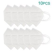 Masque facial KN95 ffp22, Anti poussière, en tissu Non tissé pour adultes, protection filtrante 95%, en Stock