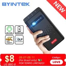 BYINTEK P20 Mini Portable Smart Android WIFI TV Video Pico LED DLP Projector for Full HD 1080P Mobil