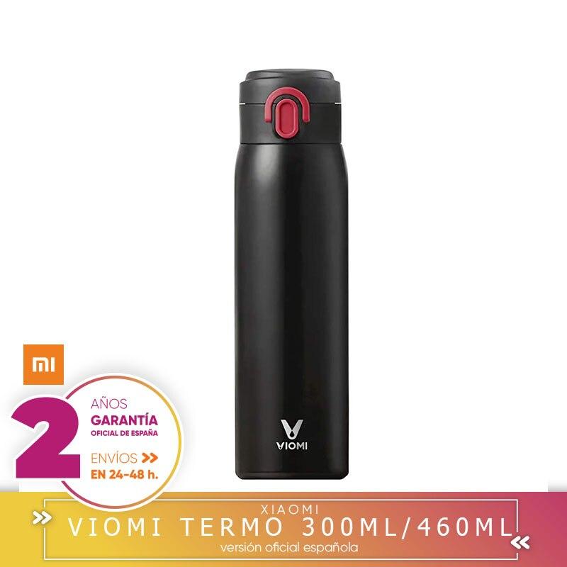 XIAOMI VIOMI Termo de Acero Inoxidable,sin BPA,Resistente al ácido Estable y alcalino,12 Horas de Aislamiento Continuo 300/460ML