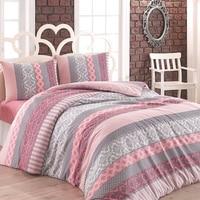 Lady Moda Bedding Set   Beril Luxury Ranforce Bed Linen Set Twin/Full/Queen/King Size 3/4/5 pcs Duvet Cover Set from Turkey