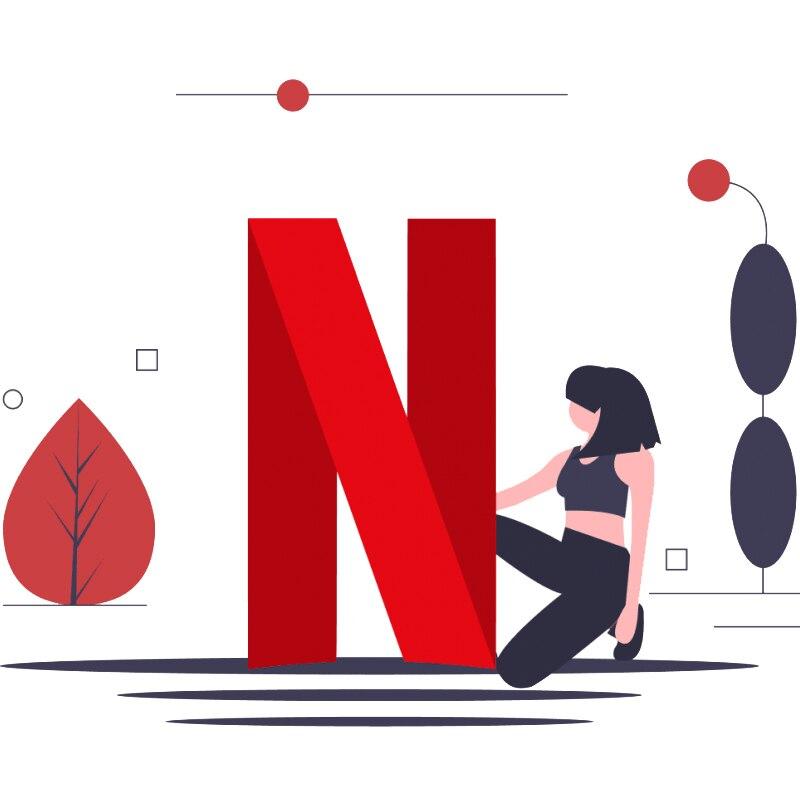 1 año, Netflix para TV Set de Top Box Android de trabajo, tv Stick, ordenador portátil, PC, teléfono 4K 4 pantalla, Netflix, código de cuenta Premium