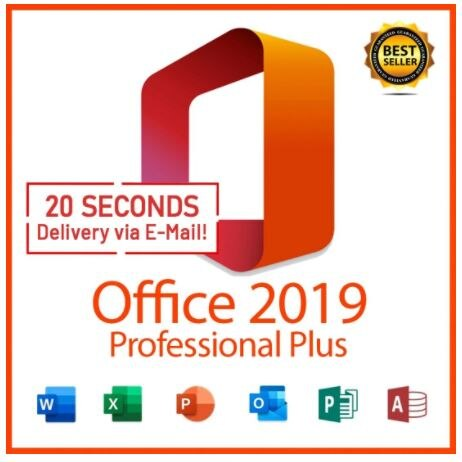 Office 2019 Pro Plus - Aclivation Licence - Multilingue - All Country - 3 Minute