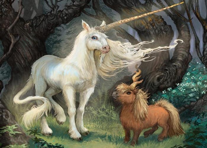 Pegatinas de pared cuadradas completas Cuadros 5D pintura de diamante haft diamentowy kit de punto de cruz paisaje animal caballo mosaico unicornio