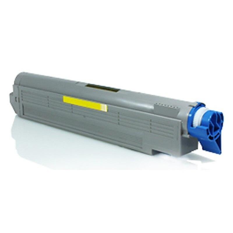 OKI C8600 Желтый тонер совместимый C8600 C8600CDTN C8600DN C8600N C8800 C8800CDTN C8800DN C8800HN C8800N
