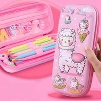pencil case n%d0%b5%d0%bd%d0%b0%d0%bb kawaii storage stationery school supplies unicorn pensil case girls eva pens case cute box office accessories