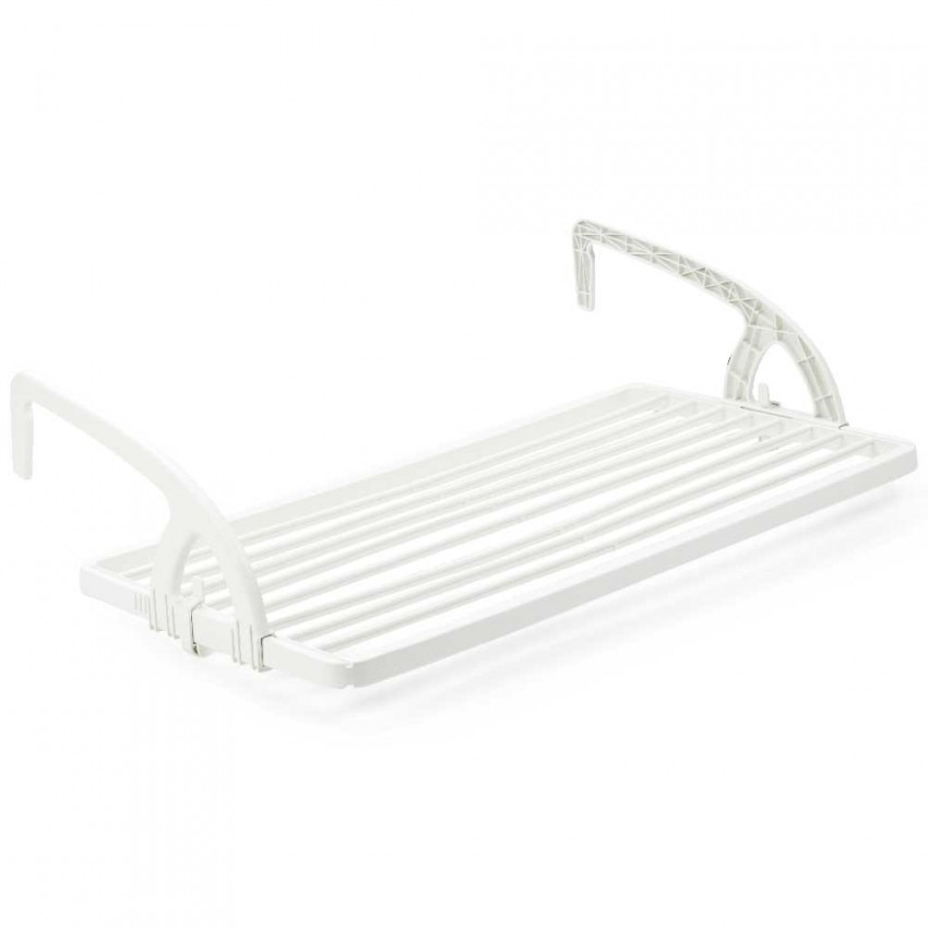 Clothesline Balcony White Bow 99x75x27cm Landscraft.com
