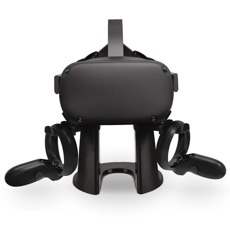 كوة quest2 تخزين الرف من سماعات VR خوذة مخصصة عرض حامل حامل ل كوة كويست 2 / rift S / htc فيف برو