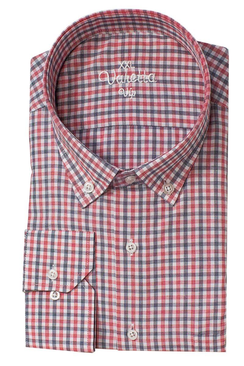 Varetta Oversized Mens Shirts Plaid Shirts For Men Big Size Mens Oxford Casual Long Sleeve Shirts Men Classic Brand Shirts turkey