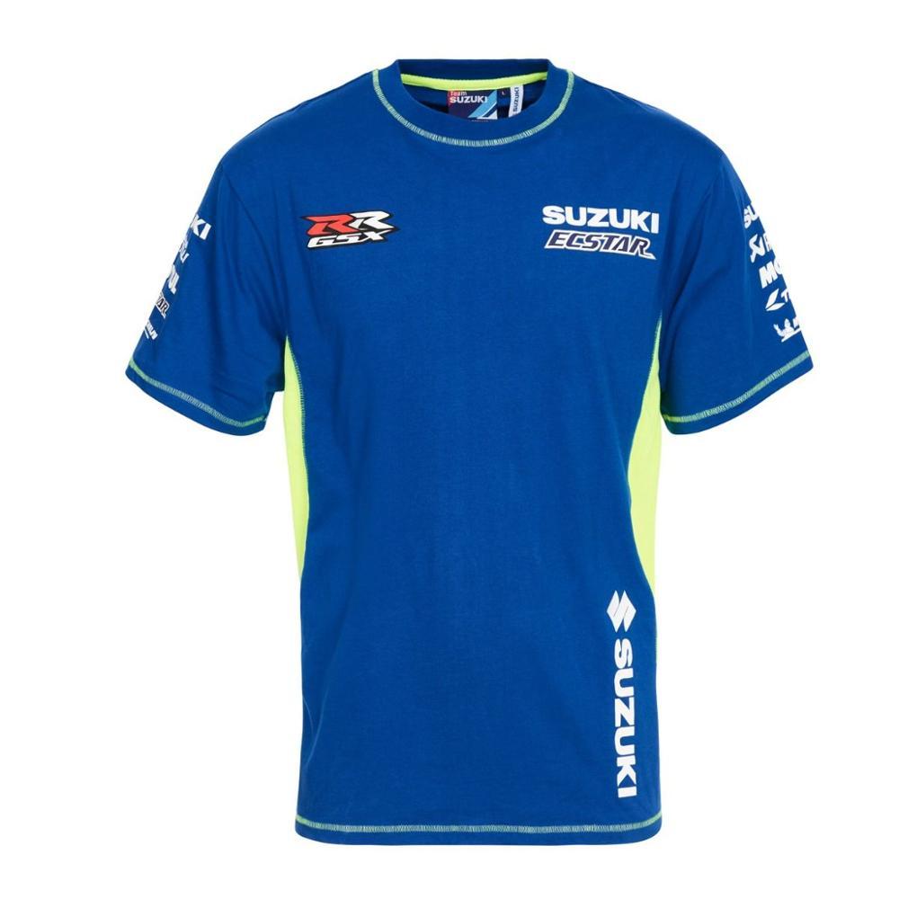 Camiseta paddock pitline teamwear motocicleta racing team suzuki motogp 100% original