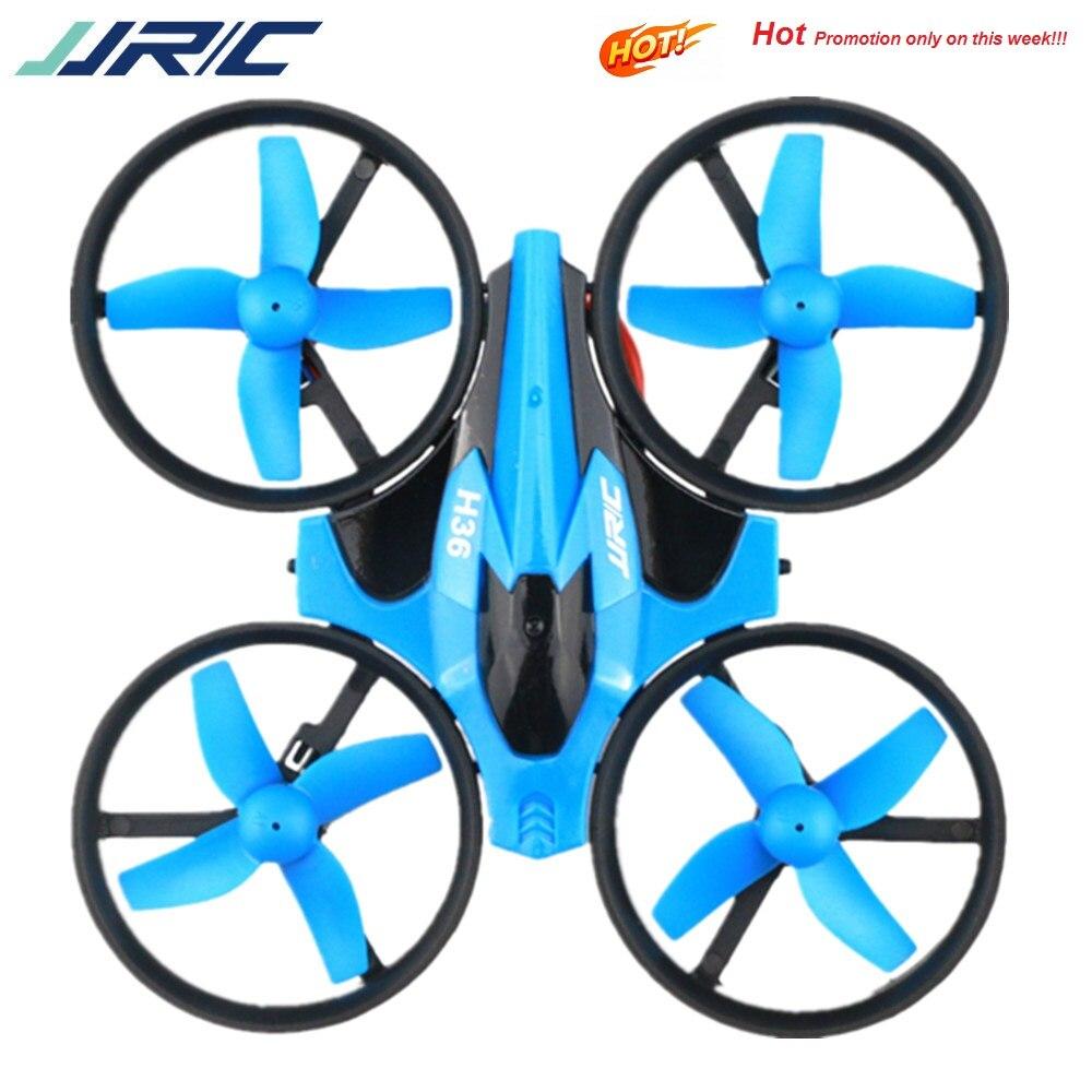 JJRC H36 طائرة صغيرة بدون طيار 2.4G 4CH 6-Axis سرعة ثلاثية الأبعاد وضع الوجه بدون رأس RC طائرات بدون طيار لعبة هدية الحاضر RTF VS E010 H8 Mini