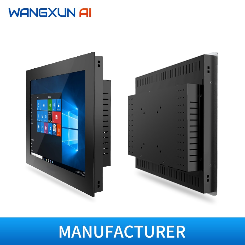 10/12/15/17/19''industrial all in one pc with resistive touch  screen embedded touch panel  tablet pc for Android/Windows