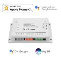 Apple HomeKit     commutateur pour maison intelligente  4ch  Sonof  WiFi  telecommande sans fil  90-250V AC  relais vocal Siri