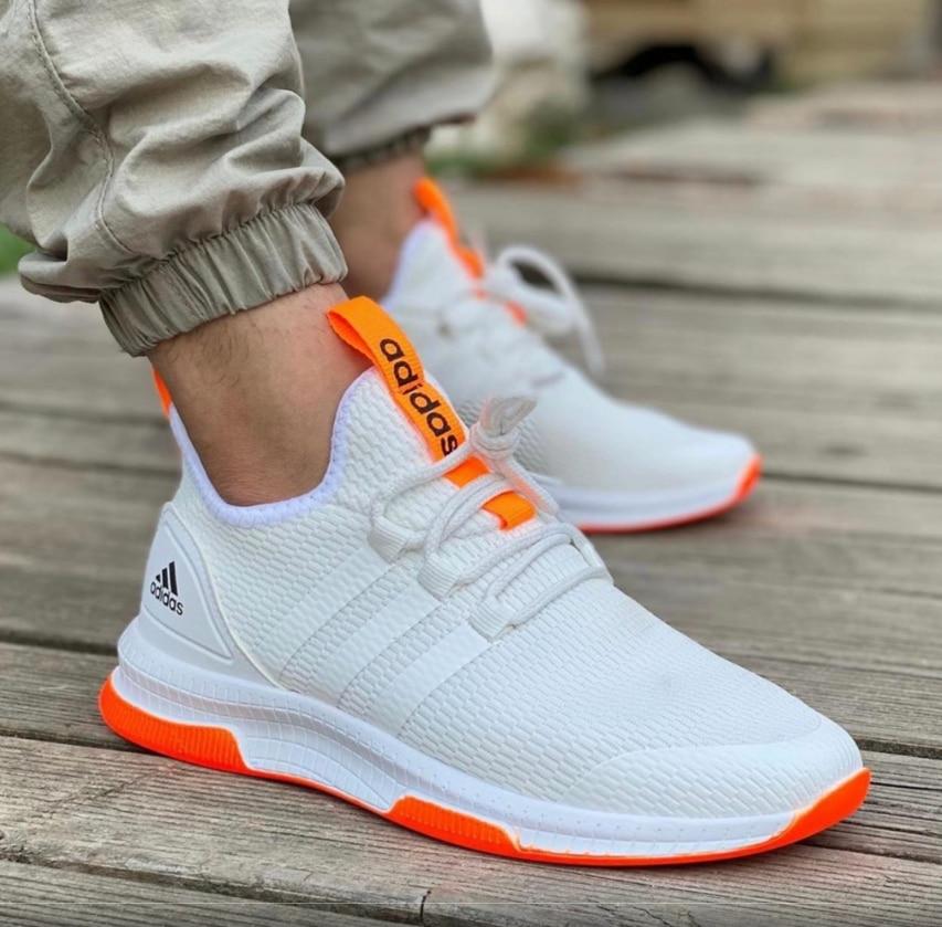 Adidas Original Orange White Casual Comfy Shoes