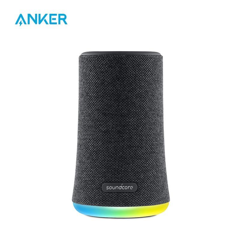 Anker Soundcore مضيئة بلوتوث صغير المتكلم ، في الهواء الطلق بلوتوث المتكلم ، IPX7 مقاوم للماء للحفلات في الهواء الطلق