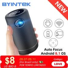 BYINTEK P30 Pocket Portable Smart Android WIFI Full HD 1080p TV Video LED DLP Mini Projector for 4K