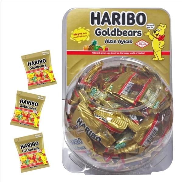 Haribo Globe 12,5 гр 75 пакетов 750 штук