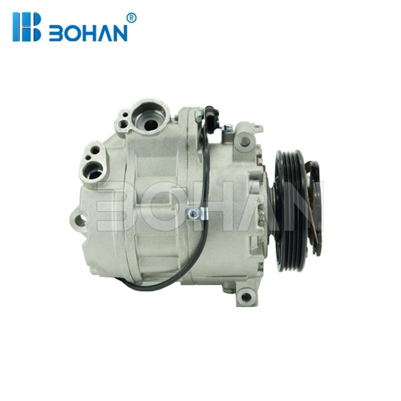 Ar condicionado compressor Para BMW X5 E70 4.8 07-BH-BM021-1 13 9195975 9121760 9185144 64529121760 64529185144 64529185145 64529195975