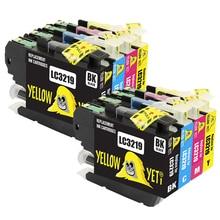 8 stücke LC3219XL Kompatibel LC3219 XL Tinte Patronen für Brother LC3219XL für MFC-J5330DW MFC-J5335DW MFC-J5730DW MFC-J5930DW