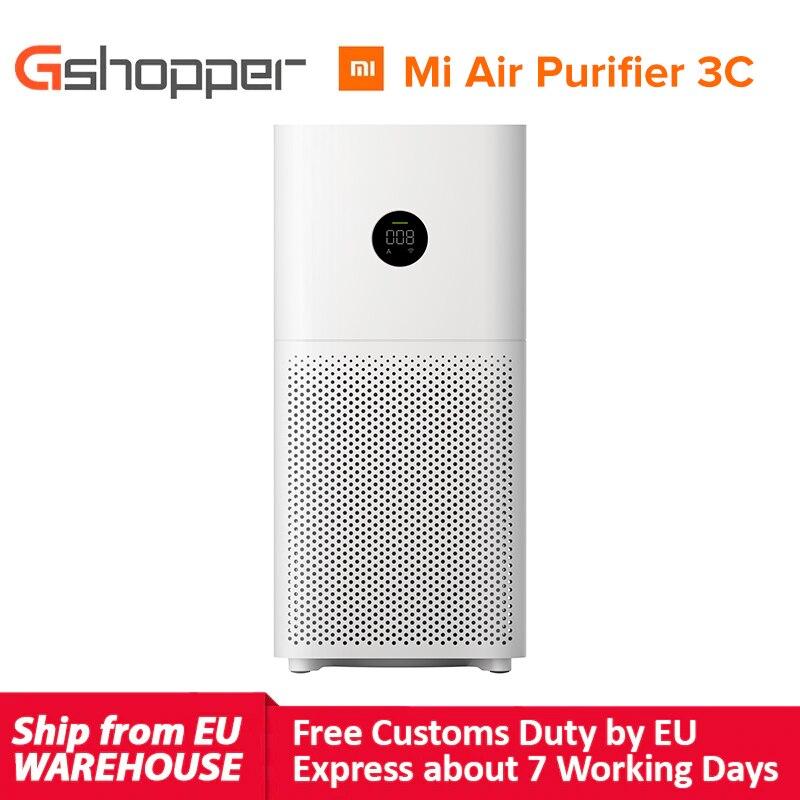 Xiaomi Mijia Mi Air Purifier 3C Digital LED display HEPA filter Xiaomi Home WIFI app + AI voice Smar